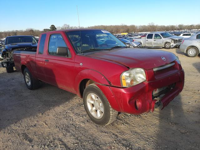 Nissan salvage cars for sale: 2002 Nissan Frontier K