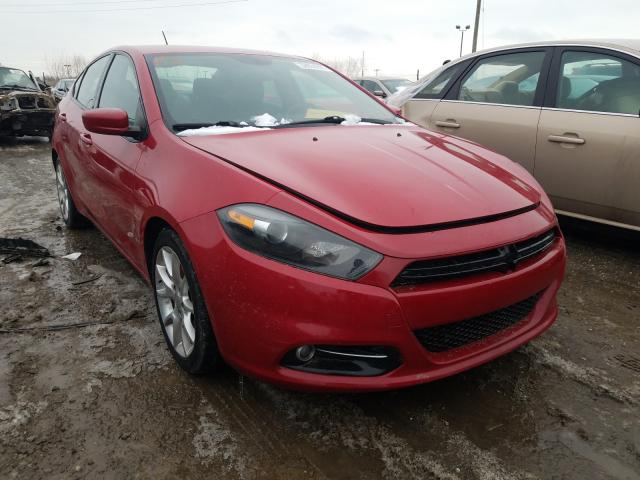 Salvage cars for sale from Copart Indianapolis, IN: 2013 Dodge Dart SXT