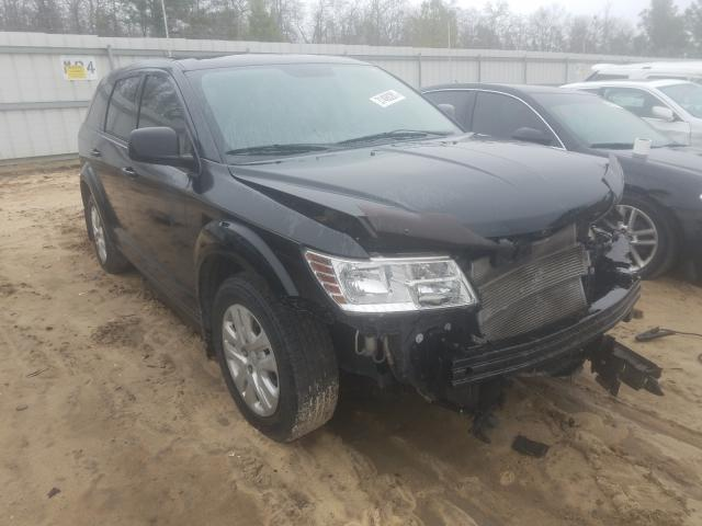 Salvage cars for sale from Copart Gaston, SC: 2013 Dodge Journey SE