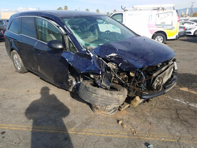 Salvage cars for sale from Copart Colton, CA: 2015 Honda Odyssey LX