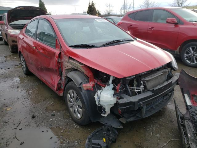 Salvage cars for sale from Copart Eugene, OR: 2016 Hyundai Accent SE