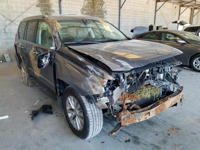 Salvage cars for sale from Copart Cartersville, GA: 2017 Lexus GX 460