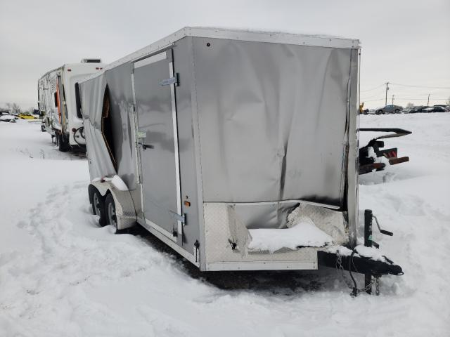 Haulmark Cargo Trailer salvage cars for sale: 2018 Haulmark Cargo Trailer