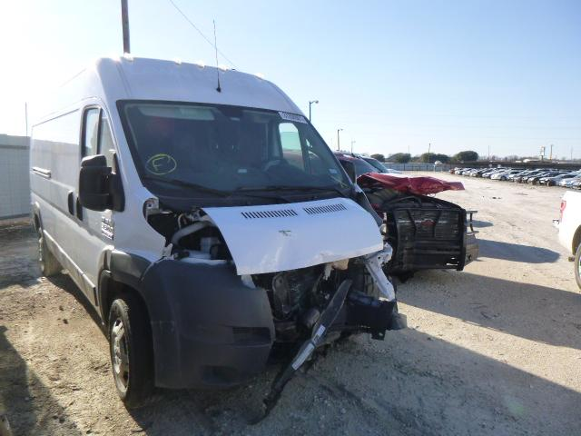 Salvage cars for sale from Copart Temple, TX: 2018 Dodge RAM Promaster