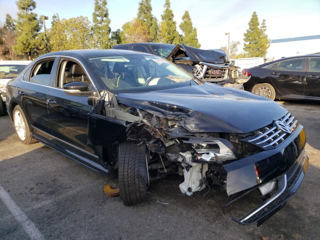 Salvage cars for sale from Copart Rancho Cucamonga, CA: 2014 Volkswagen Passat SEL