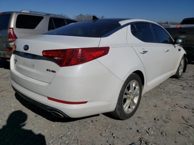 2013 KIA OPTIMA EX - Right Rear View