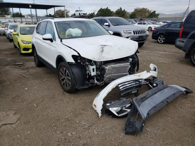 Volkswagen salvage cars for sale: 2020 Volkswagen Tiguan SE