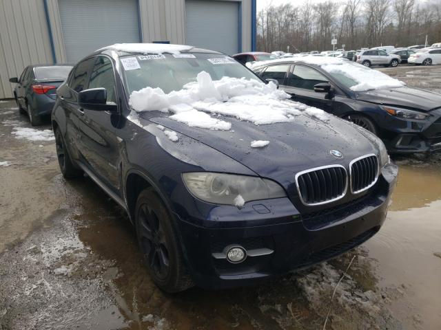 Salvage cars for sale from Copart Waldorf, MD: 2009 BMW X6 XDRIVE3