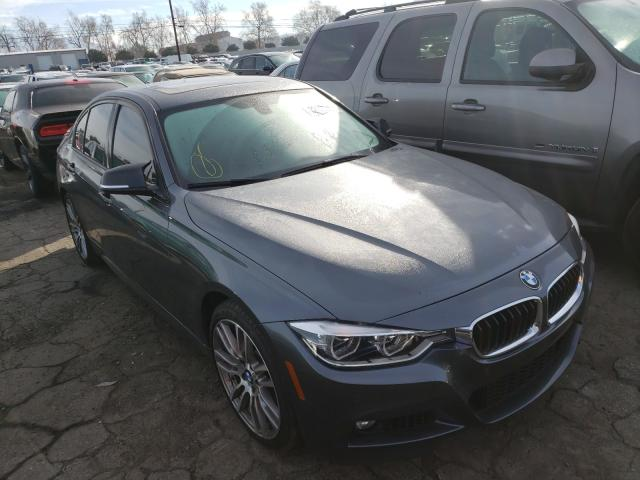 Salvage cars for sale from Copart Colton, CA: 2017 BMW 340 I