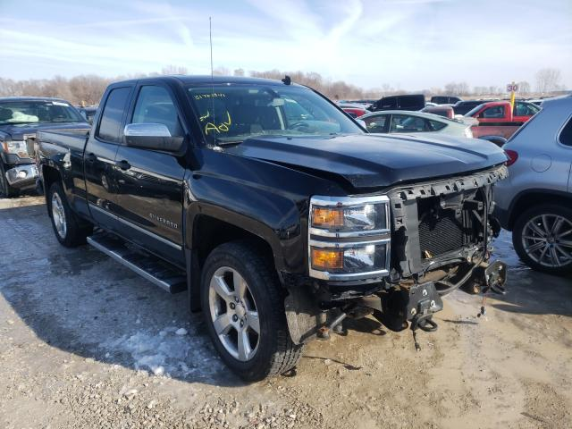 Salvage cars for sale from Copart Des Moines, IA: 2014 Chevrolet Silverado