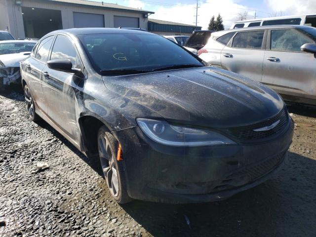 Salvage cars for sale from Copart Eugene, OR: 2015 Chrysler 200 S