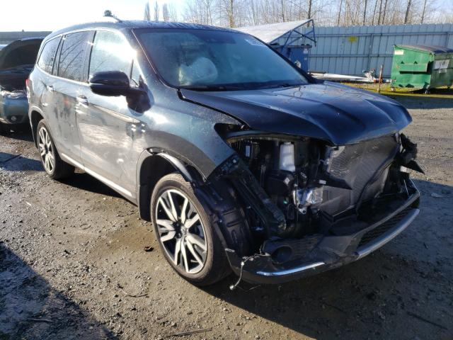 Salvage cars for sale from Copart Arlington, WA: 2019 Honda Pilot Elit