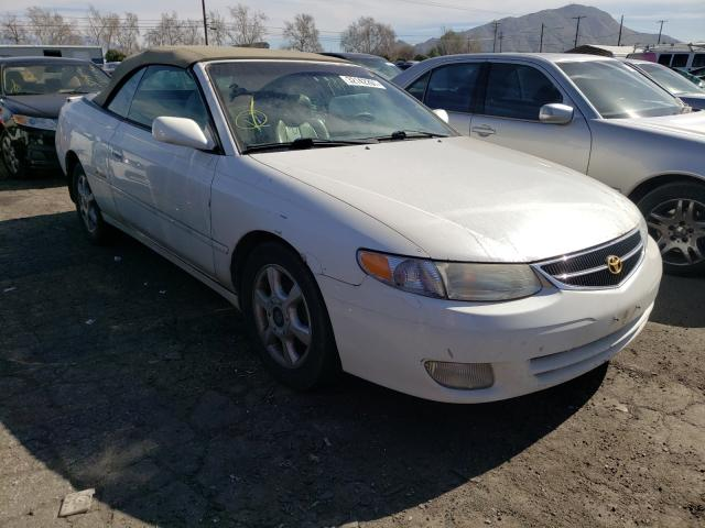 Salvage cars for sale from Copart Colton, CA: 2000 Toyota Camry Sola