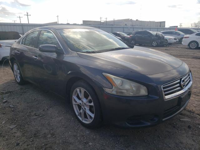 Salvage cars for sale from Copart Mercedes, TX: 2012 Nissan Maxima S