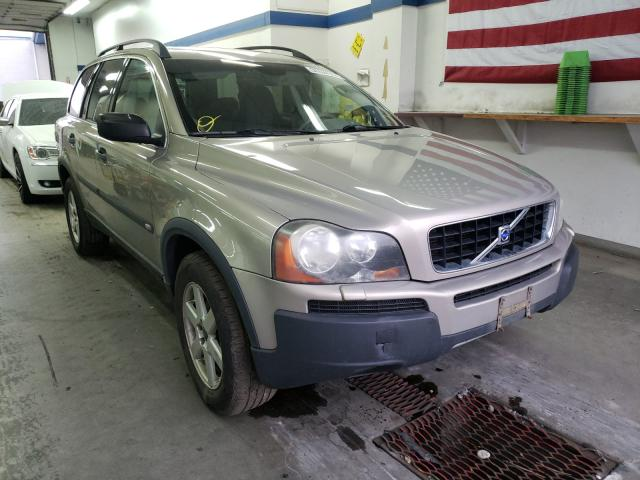 Volvo salvage cars for sale: 2004 Volvo XC90