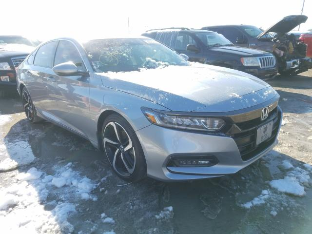 Salvage cars for sale from Copart Indianapolis, IN: 2019 Honda Accord Sport