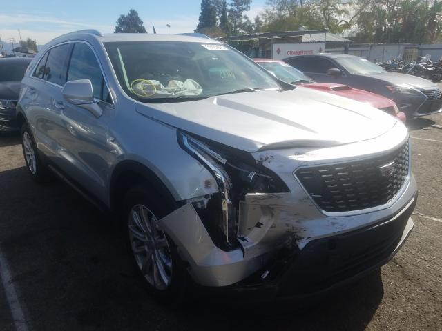 Cadillac XT4 Luxury salvage cars for sale: 2019 Cadillac XT4 Luxury