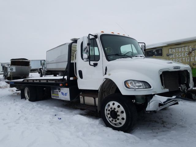 Salvage cars for sale from Copart Cicero, IN: 2018 Freightliner M2 106 MED