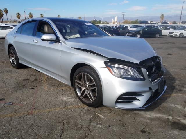 Salvage cars for sale from Copart Colton, CA: 2020 Mercedes-Benz S 560 4matic
