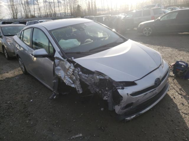 Salvage cars for sale from Copart Arlington, WA: 2020 Toyota Prius L