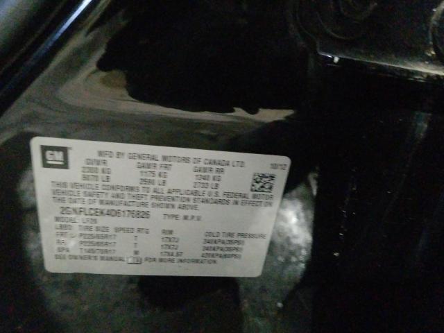 2013 CHEVROLET EQUINOX LS 2GNFLCEK4D6176826