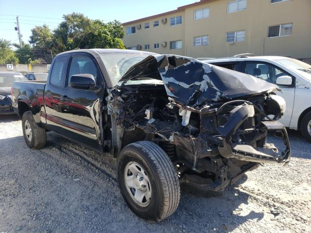 Salvage cars for sale from Copart Opa Locka, FL: 2017 Toyota Tacoma ACC