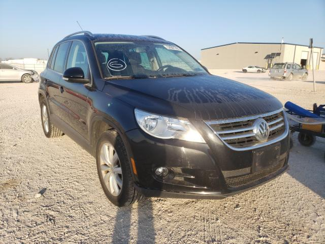 Salvage cars for sale from Copart San Antonio, TX: 2011 Volkswagen Tiguan S