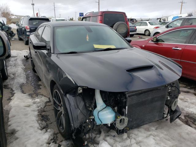Salvage cars for sale from Copart Reno, NV: 2018 Dodge Charger R