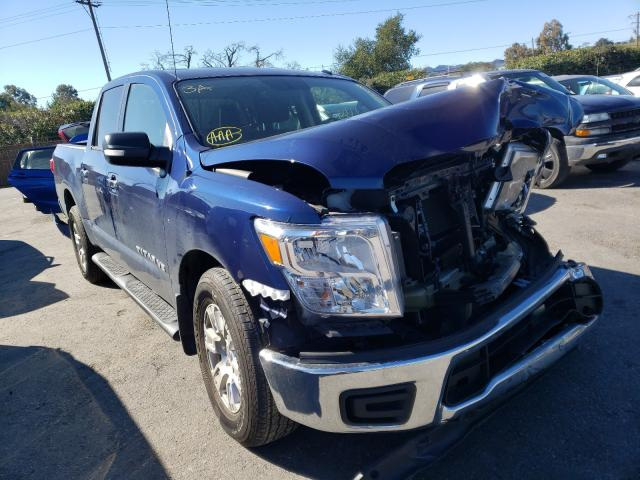 Nissan salvage cars for sale: 2018 Nissan Titan S