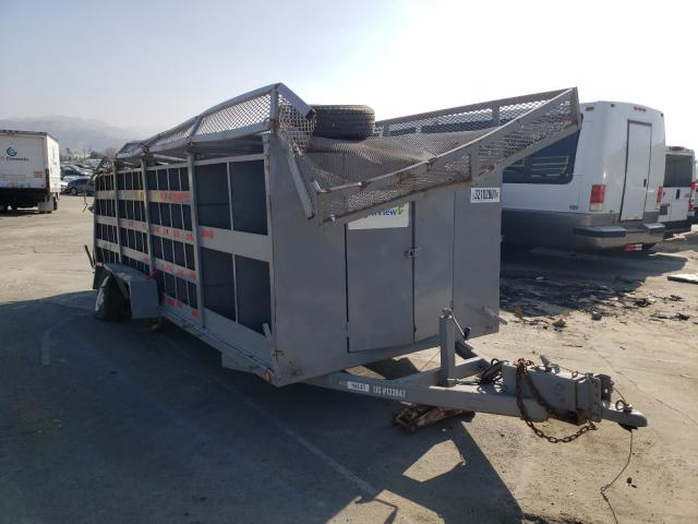 Special Construction salvage cars for sale: 2000 Special Construction 16'TRAILER