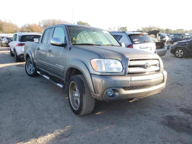 Salvage cars for sale from Copart Riverview, FL: 2006 Toyota Tundra DOU