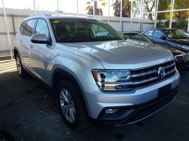 Salvage cars for sale from Copart Martinez, CA: 2018 Volkswagen Atlas SE
