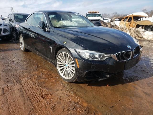 Salvage cars for sale from Copart Hillsborough, NJ: 2015 BMW 428 XI SUL