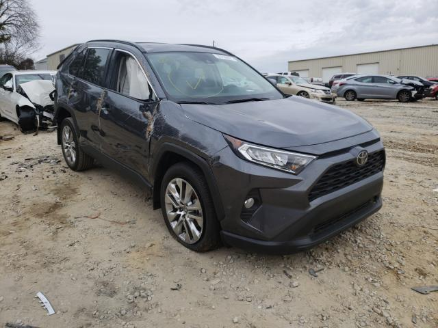 Salvage cars for sale from Copart Gainesville, GA: 2020 Toyota Rav4 XLE P