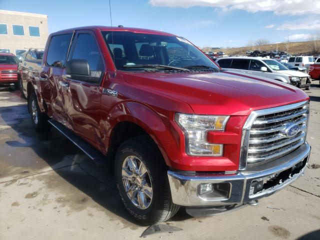 Salvage cars for sale from Copart Littleton, CO: 2016 Ford F150 Super
