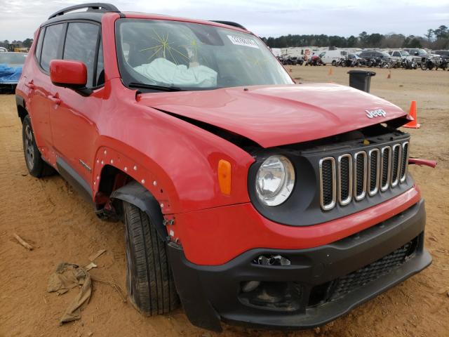 Jeep Renegade salvage cars for sale: 2016 Jeep Renegade
