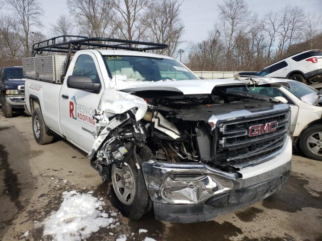 Salvage cars for sale from Copart Ellwood City, PA: 2018 GMC Sierra C15