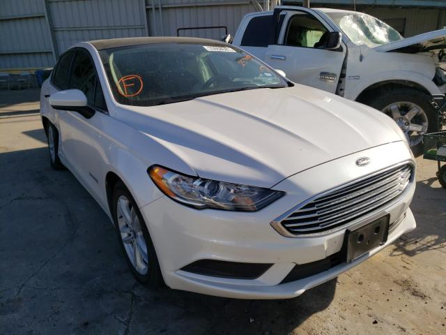 Salvage cars for sale from Copart Corpus Christi, TX: 2018 Ford Fusion SE