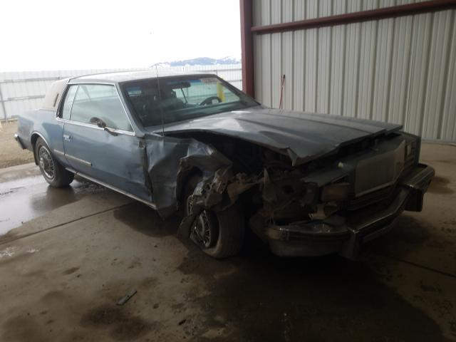 Oldsmobile salvage cars for sale: 1985 Oldsmobile Toronado B