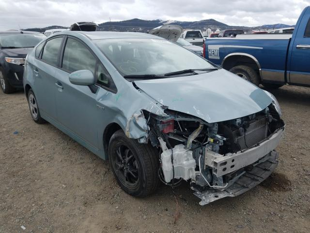 Salvage cars for sale from Copart Helena, MT: 2014 Toyota Prius