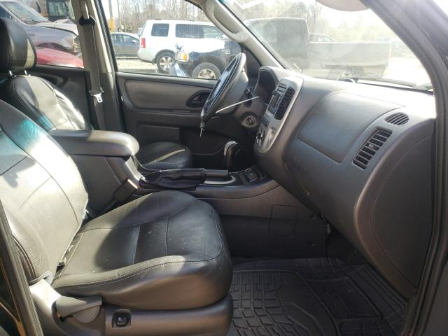 2006 FORD ESCAPE HEV - Left Rear View