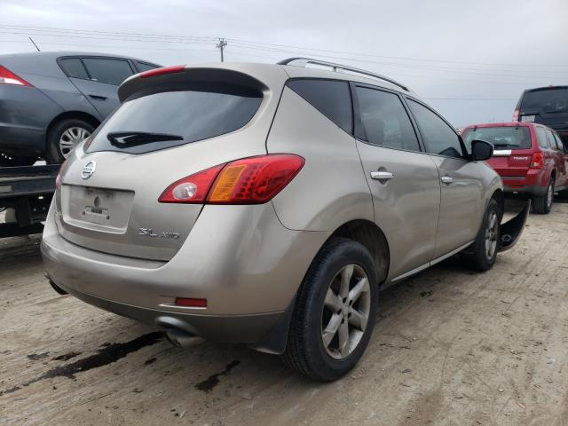 2009 NISSAN MURANO S - Right Rear View