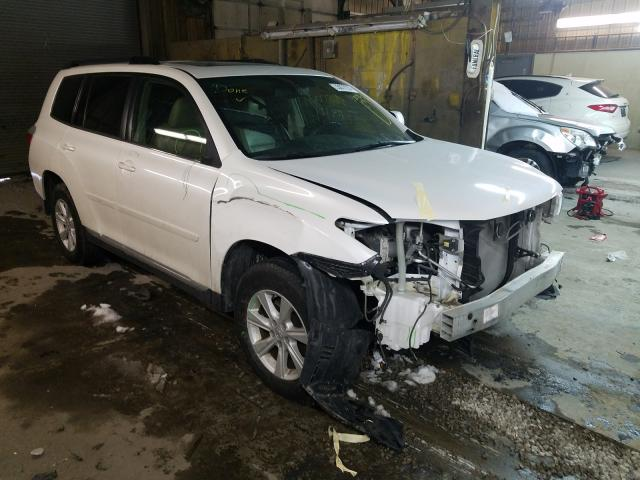 Vehiculos salvage en venta de Copart Fort Wayne, IN: 2012 Toyota Highlander