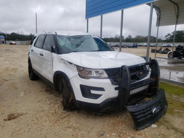 Salvage cars for sale from Copart Newton, AL: 2018 Ford Explorer P