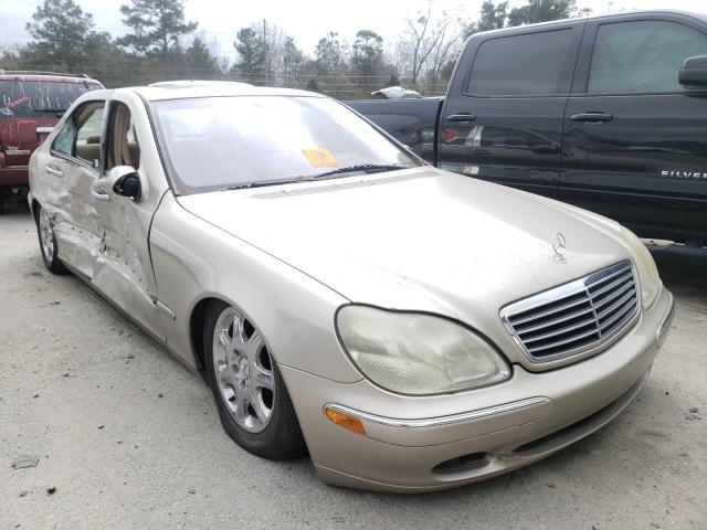 Vehiculos salvage en venta de Copart Savannah, GA: 2000 Mercedes-Benz S 430