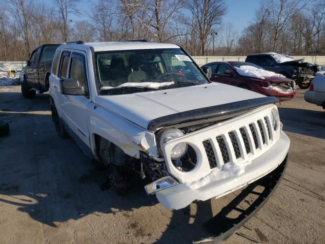 Salvage cars for sale from Copart Ellwood City, PA: 2015 Jeep Patriot SP