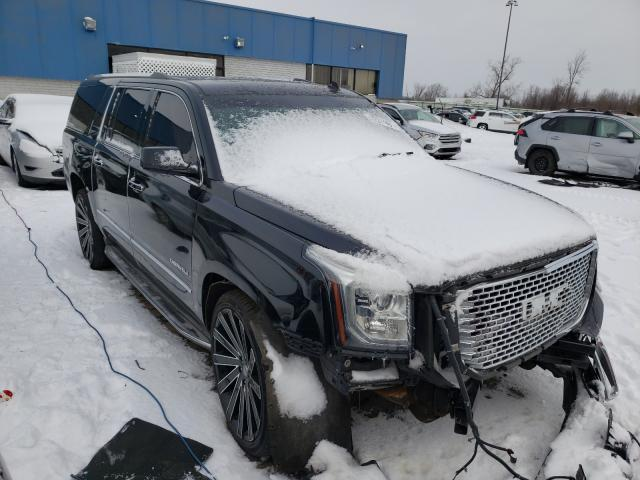 Salvage cars for sale from Copart Woodhaven, MI: 2015 GMC Yukon XL D