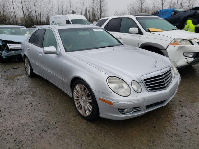 Salvage cars for sale from Copart Arlington, WA: 2007 Mercedes-Benz E 350