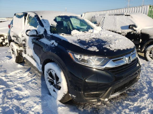 Salvage cars for sale from Copart Elgin, IL: 2018 Honda CR-V LX