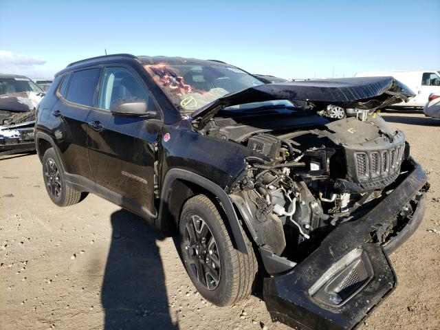 Salvage cars for sale from Copart Brighton, CO: 2020 Jeep Compass TR